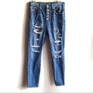 We the Free Blossom Rigid Crop Skinny Jeans 26